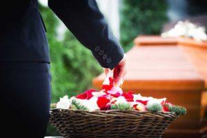 Blumenkorb-Abschied nehmen-Bestattungen Hafa-Rottweil