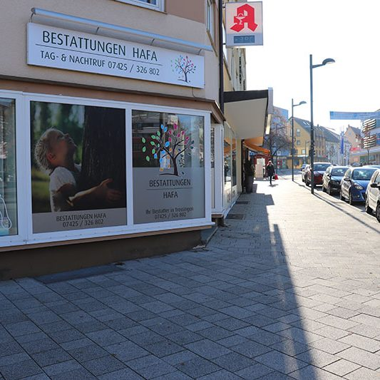 Standort Trossingen-Startseiter-Bestattungen Hafa-Rottweil